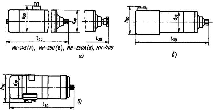 электродвигателя МН-400